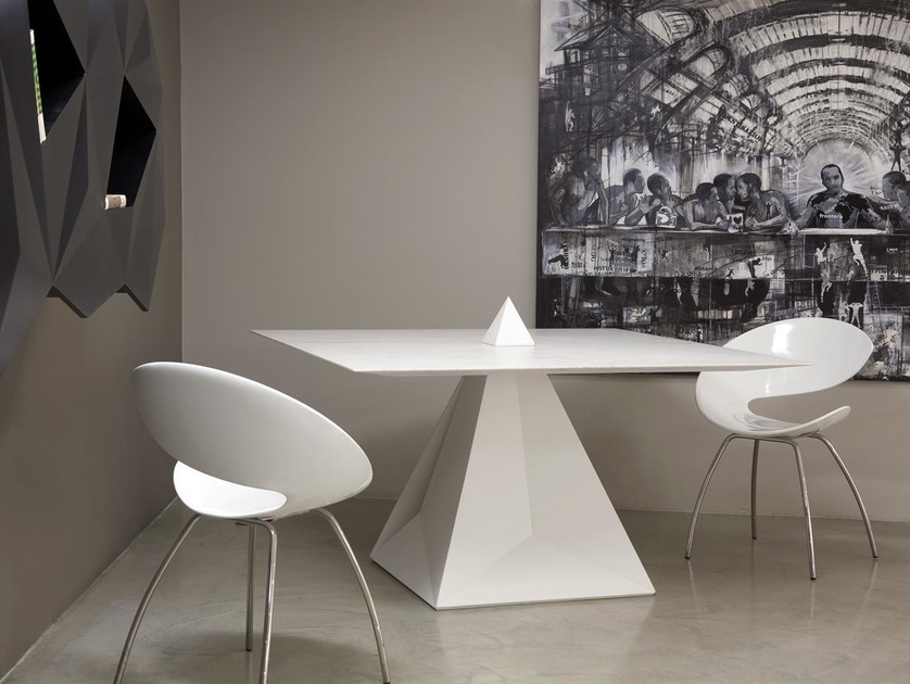 Square marble table JOIN - INCASTRO PERFETTO | Marble table by Boffetto