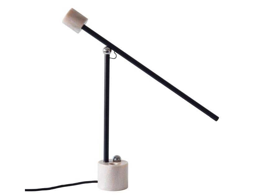 Marble table lamp N LAMP | LED table lamp by UBIKUBI