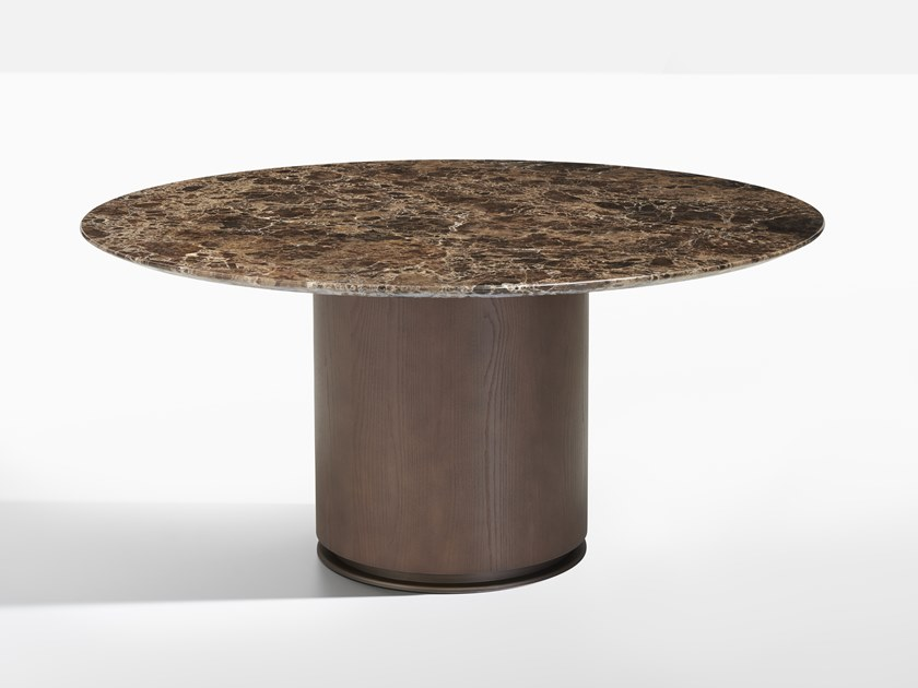 Round marble table OTAB | Marble table by Potocco