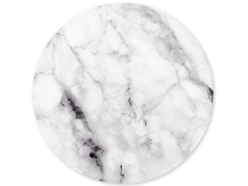 Decorazione adesiva a motivi in vinile MARBLE WHITE by Groovy Magnets