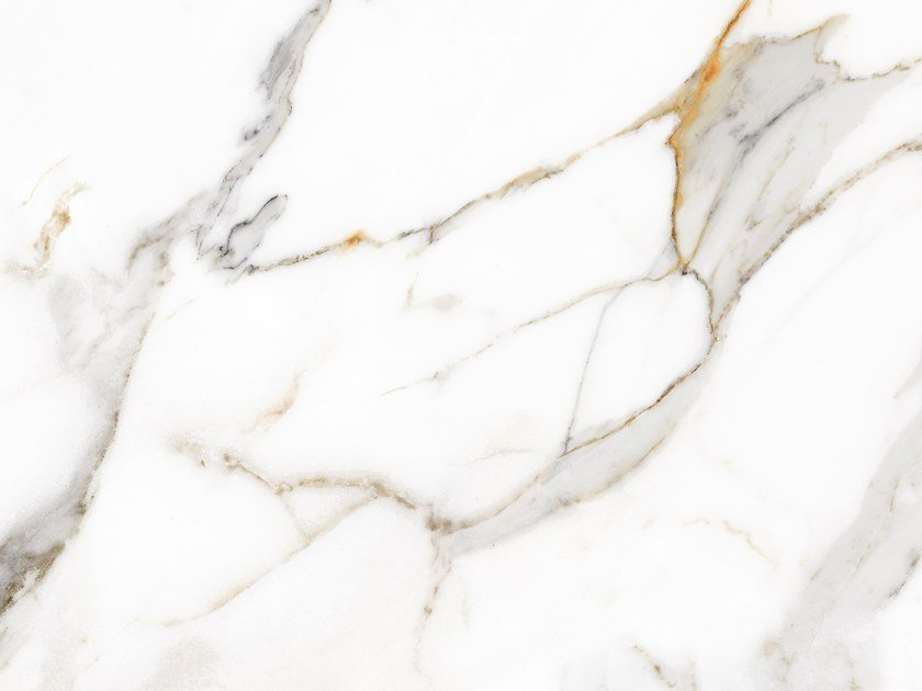 Porcelain stoneware flooring with marble effect MARBLES CALACATTA by Exagres