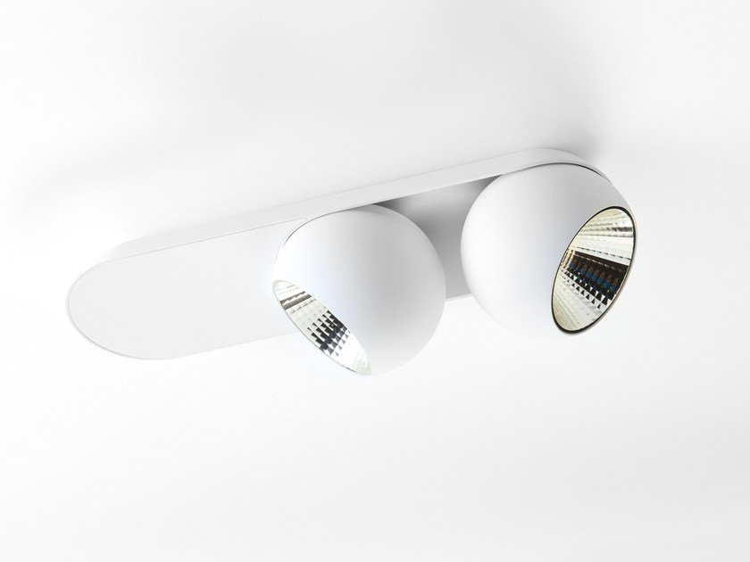 LED ceiling adjustable spotlight MARBUL x2 by Modular Lighting Instruments