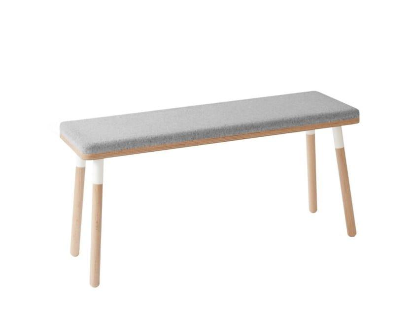 Upholstered fabric bench MARCO | Upholstered bench by UBIKUBI