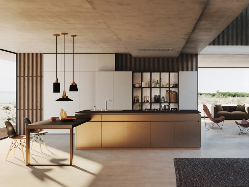 Kitchen with island ARES   Kitchen with island by Floritelli Cucine