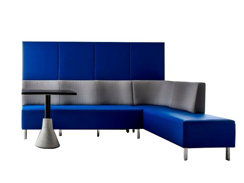 Upholstered high-back restaurant booth MAREA | High-back restaurant booth by Sedex