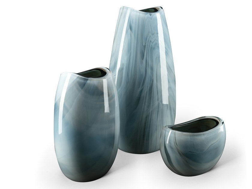 Murano glass vase MAREA by Visionnaire