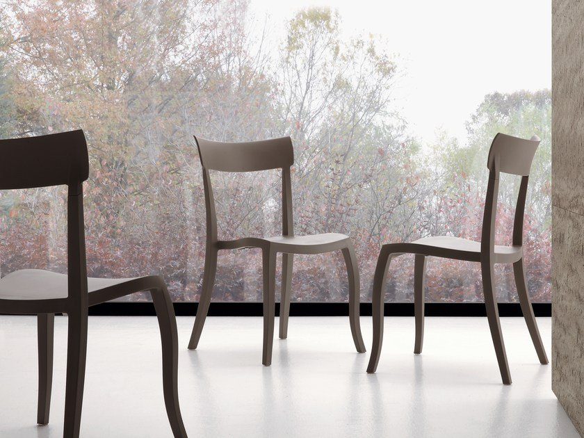 Stackable polypropylene chair MARGA by IDEAS Group