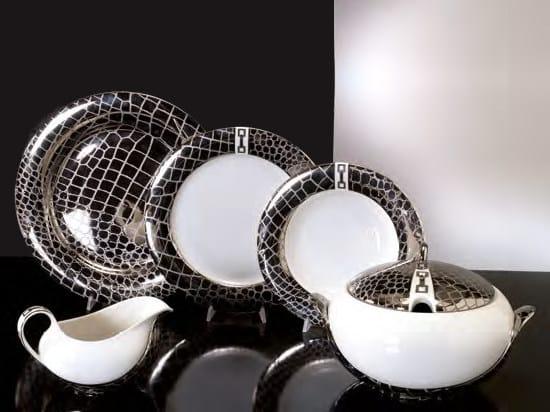Porcelain plates set MARGHERITA   Plates set by Formitalia