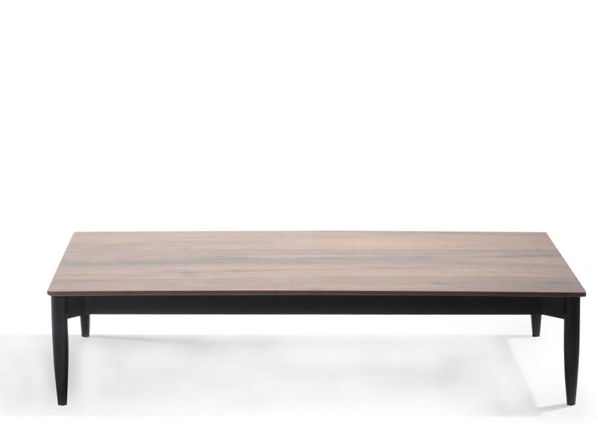 Low rectangular Xeramica coffee table MARGUERITE | Rectangular coffee table by Joli