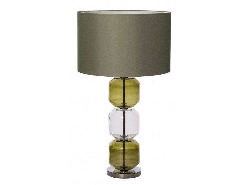 Glass table lamp MARINA by Flam & Luce