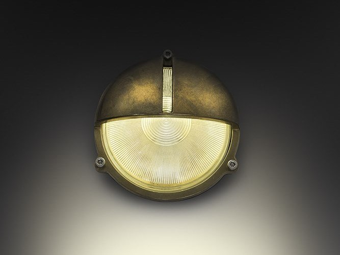 Applique a luce diretta in ottone MARINA-R by BEL-LIGHTING