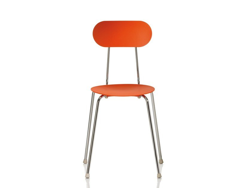 Stackable polypropylene chair MARIOLINA by Magis