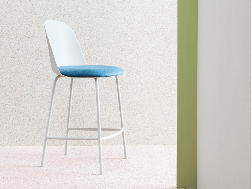 High polypropylene stool MARIOLINA | Stool by Miniforms