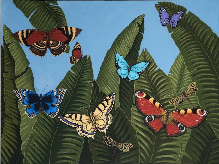 Canvas Painting Mariposas de día by NOVOCUADRO ART COMPANY