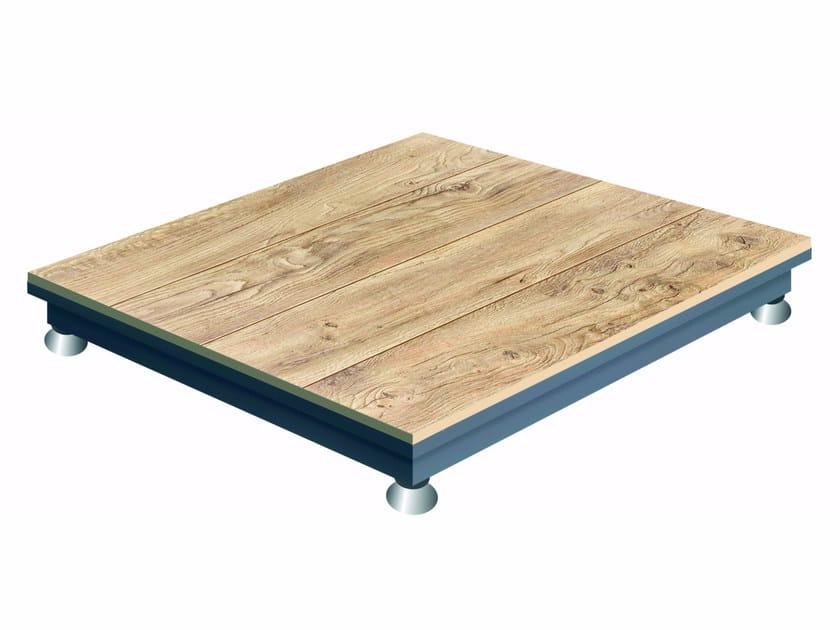 Outdoor heated floor MARK III by Italywarm