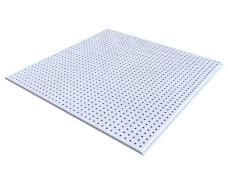 Gypsum ceiling tiles MARKANT GLOBE G1 by Knauf Italia