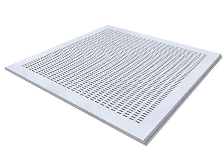 Gypsum ceiling tiles MARKANT TANGENT T1 by Knauf Italia