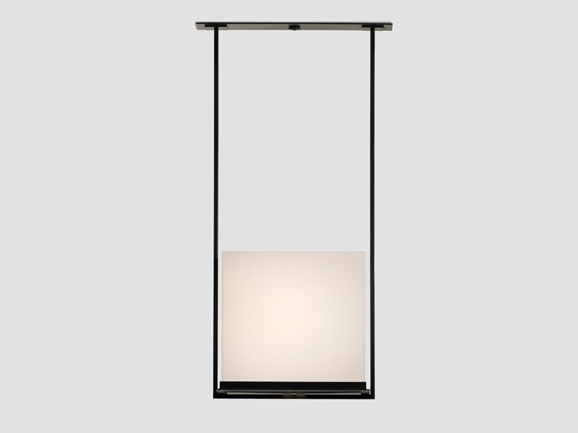 Direct light paper pendant lamp MARKET by Kevin Reilly Collection