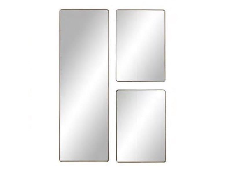 Rectangular wall-mounted framed mirror MARLENE | Rectangular mirror by BAXTER