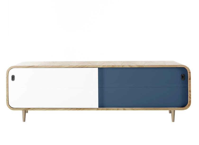 Sideboard with sliding doors MARLY by AZEA