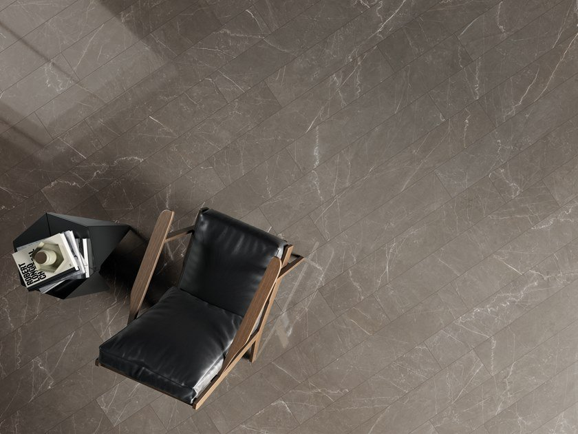 Pavimento/rivestimento in gres porcellanato effetto marmo MARMI BRONZE AMANI by La Fabbrica