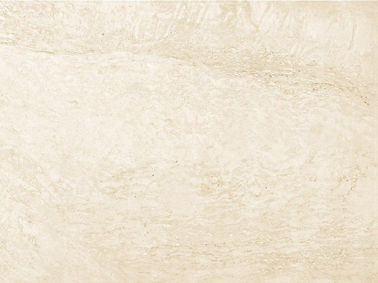 White-paste wall tiles with marble effect MARMO D Travertino Bianco by Impronta Ceramiche