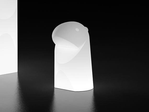 LED polyethylene table lamp MARMOTTA LIGHT MINI by Plust