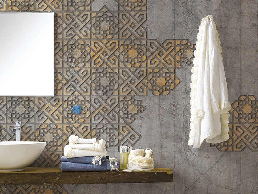 Motif panoramic wallpaper MARRAKECH by Inkiostro Bianco