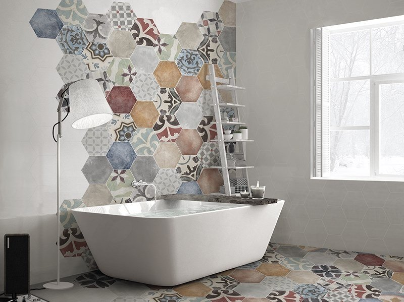 Porcelain wall/floor tiles with encaustic effect MARRAKECH by ITT Ceramic
