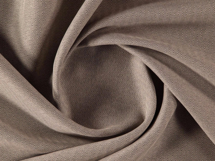 Dimming tweed polyester fabric for curtains MARSDEN by More Fabrics