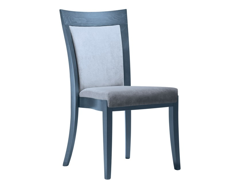 Upholstered stackable fabric chair MARTA SE01 by New Life