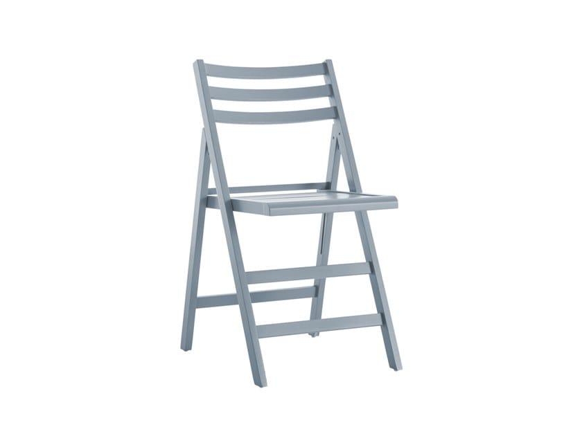 Folding beech chair MARTIN 457 by Palma