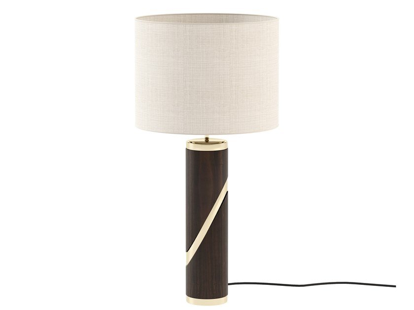 Direct-indirect light wooden table lamp MARTIN | Wooden table lamp by Laskasas