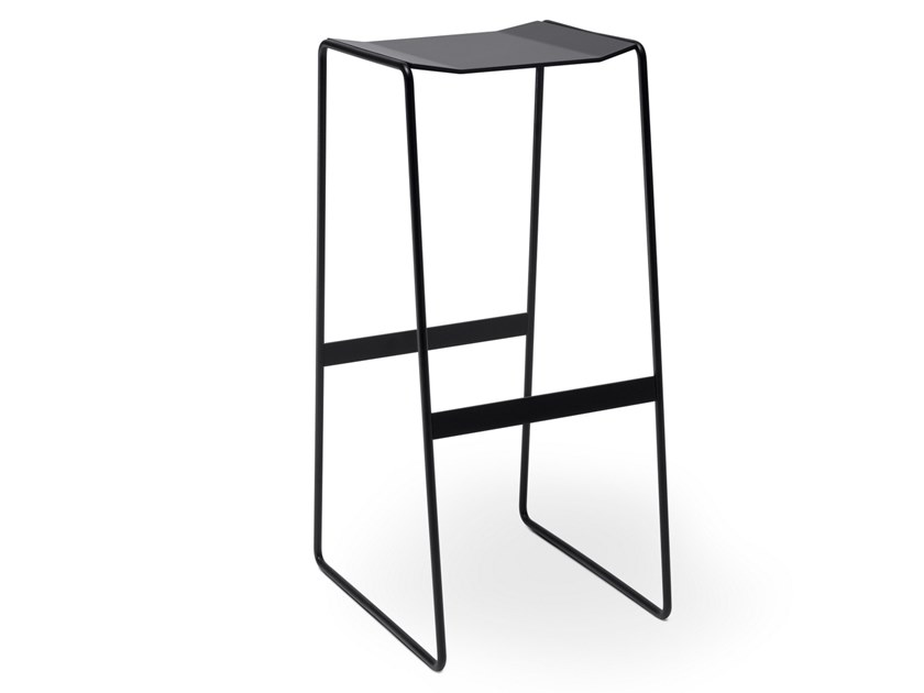 Barstool with footrest MARTINO | Stool by müller möbelfabrikation