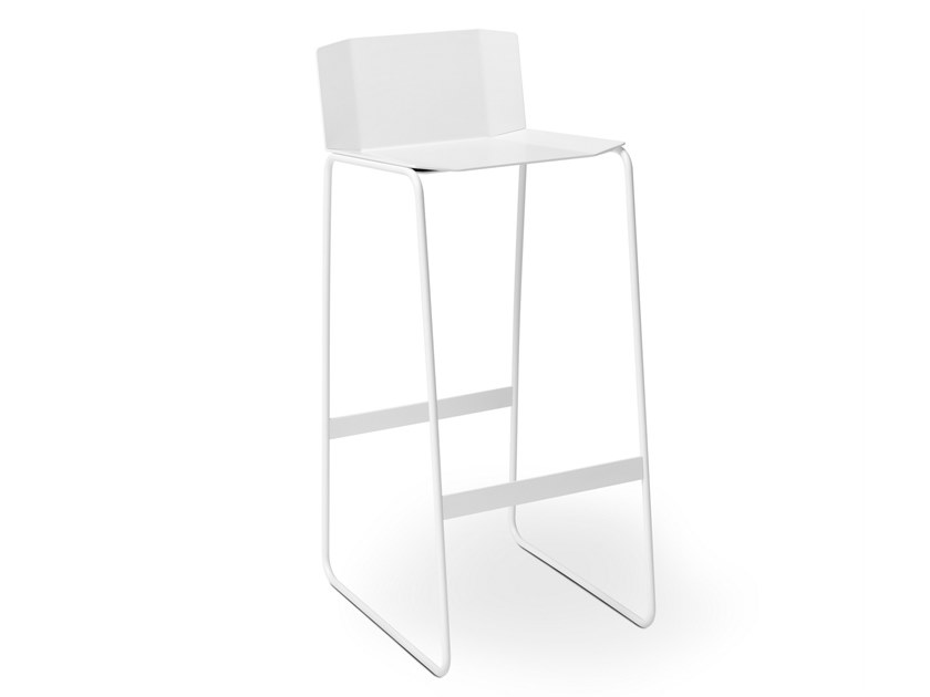 Barstool with back MARTINO | Stool with back by müller möbelfabrikation