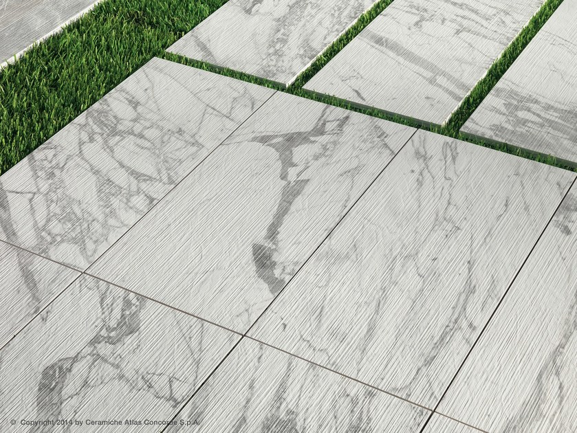 marvel pro porcelain stoneware outdoor floor tiles with marble effect