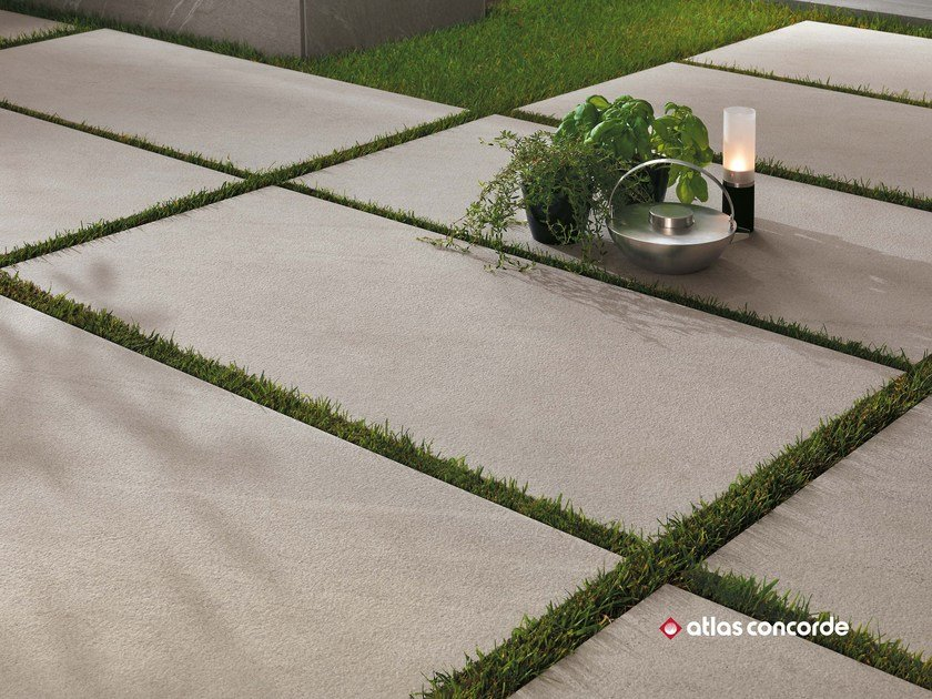Porcelain Stoneware Outdoor Floor Tiles With Stone Effect Marvel