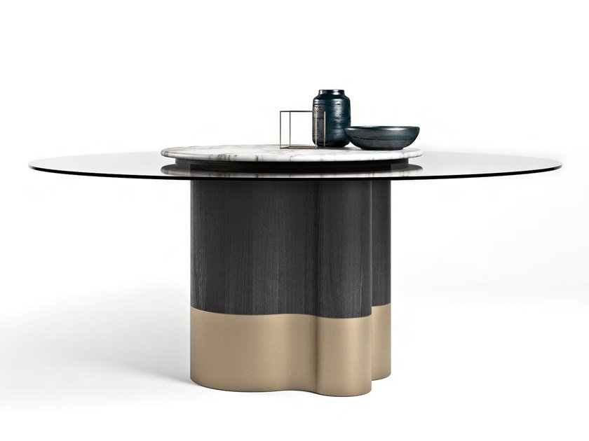 Gl Table With Lazy Susan Marygold