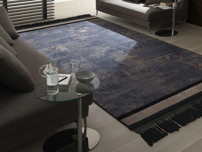 Handmade fabric rug MARYLEBONE by Besana Moquette