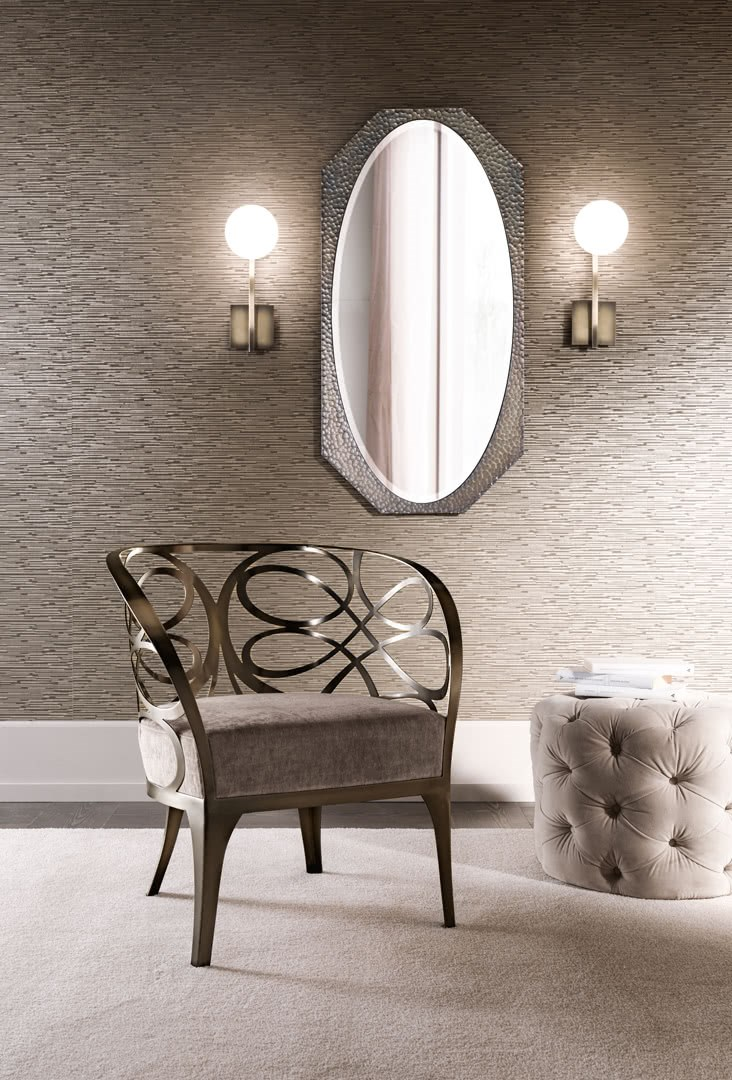 MARYLIN | Specchio ovale