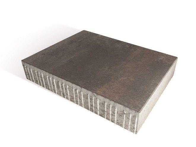 Concrete paving block MASEGNO by Tegolaia