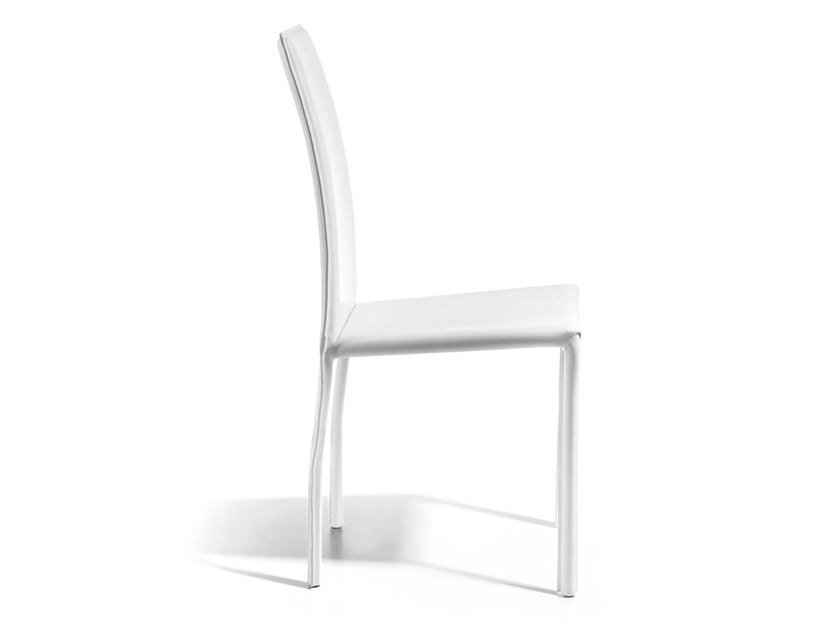 Upholstered stackable chair MASER by Trevisan Asolo