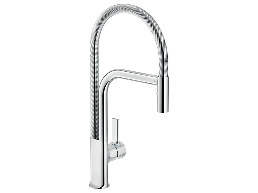Single handle kitchen mixer tap with swivel spout MASTER by Nobili Rubinetterie