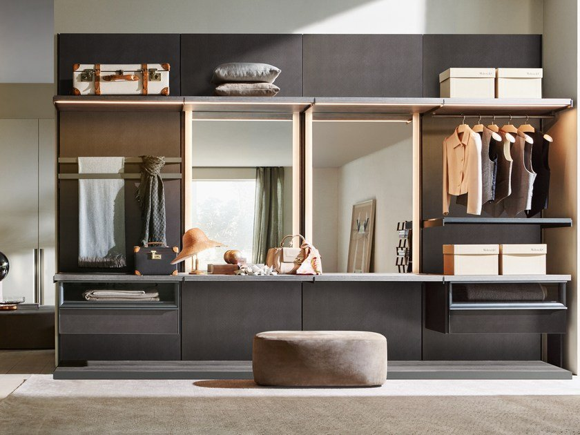 Sectional walk-in wardrobe MASTER DRESSING by Molteni&C