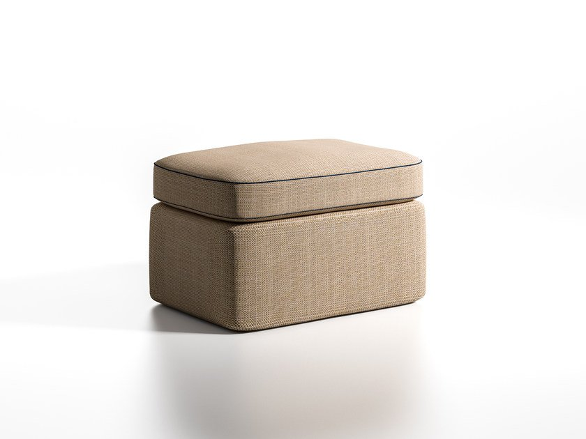 Pouf quadrato in tessuto MASTROIANNI | Pouf quadrato by Caroti