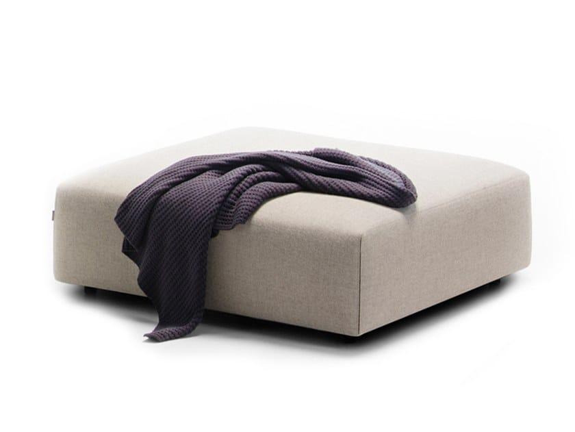 Pouf imbottito in tessuto MATCH | Pouf by prostoria