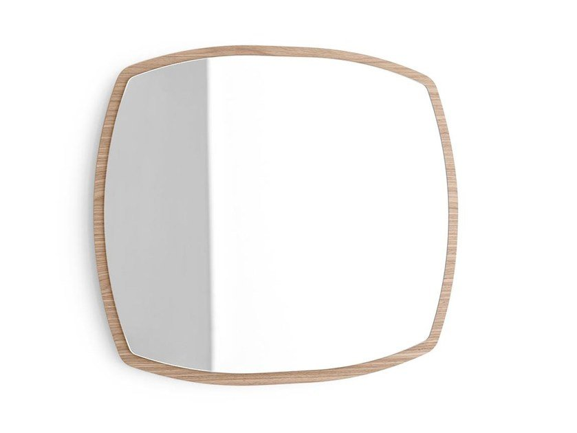 Wall-mounted mirror MATCH | Wall-mounted mirror by Calligaris