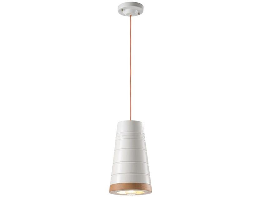 Lampada a sospensione in ceramica MATECA | Lampada a sospensione in ceramica by FERROLUCE