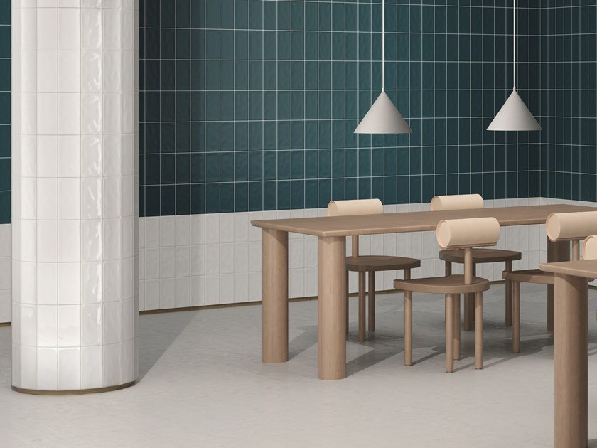 Outdoor indoor glazed stoneware wall tiles MATERIA by CERAMICA VOGUE