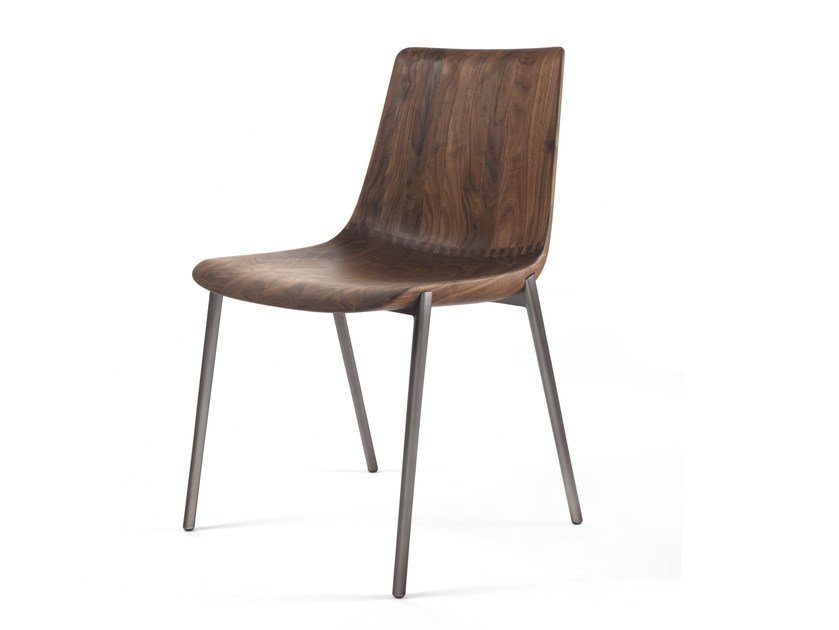Solid Wood Chair MATERIA By Riva 1920